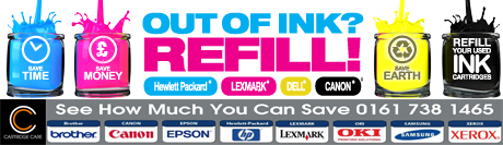 Compatible Refill Ink Cartridges Manchester – 0161 738 1465