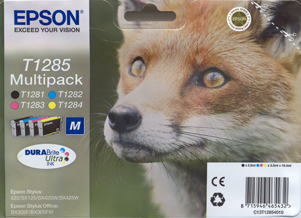 Epson T1281 Ink Cartridges Manchester