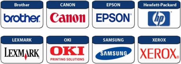 Brother, Canon, Epson, HP, Hewlett Packard, Lexmark, OKI, Samsung, Xerox Toners Manchester